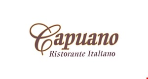 Product image for Cafe Capuano II $1 OFF any pizza (Sun.-Thurs. only) toppings extra. Offer valid at all locations.