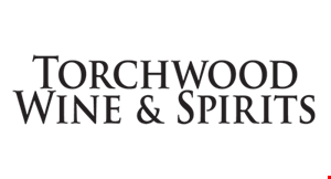 Product image for Torchwood Wine & Spirits 20% off all cases of wine.