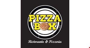 Product image for Pizza Box Ristorante & Pizzeria $10 off any purchase of $60 or more.