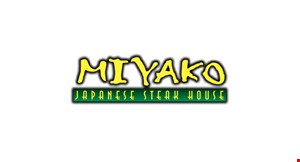 Product image for Miyako Japanese Steak House $10 off any purchase of $60 or more before tax · dine in only · dinner only · excluding alcoholic beverages excluding soft drinks/sweet tea.