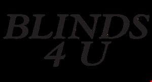 Blinds 4 U logo