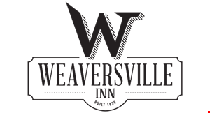 Jessica's Tearoom at The Weaversville Inn logo