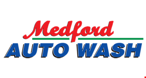 MEDFORD AUTO WASH logo