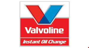 Product image for Valvoline Instant Oil Change $27.99 premium conventional full service oil change. $12 off any other oil change