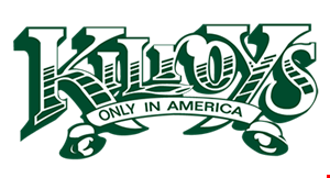 Product image for Kilroys $10 off any purchase of $40 or more (excluding lobster & alcohol) • dine in only.