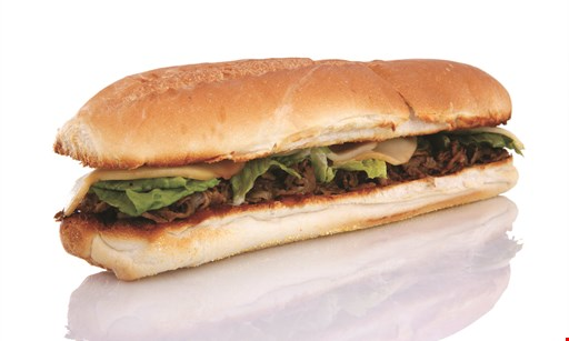 """Product image for Cousins Subs Free sub. Buy any two 71/2"""" subs & a side*,get the third 71/2"""" sub FREE!"""