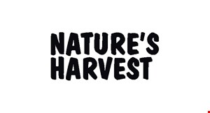 Product image for Nature's Harvest $10 off a purchase of $100 or more.