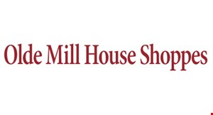 Product image for Olde Mill House Shoppes $25 For $50 Toward Home Accents, Gifts & More