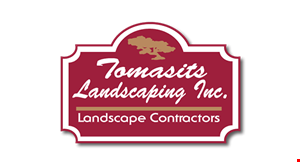 Product image for Tomasits Landscaping $25 off any job over $500. $50 off any job over $1,000.