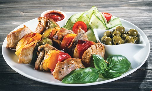 Product image for Aladin Bar And Grill 1/2 off Chicken Kabob Dinner Tuesday Only 4pm-Close Gateway Location Only