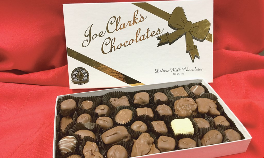 Product image for Clark Candies Inc. $10.00 off any purchase of $75 or more