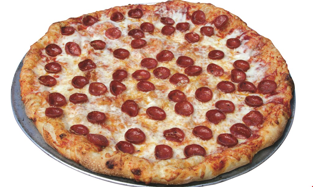 "Product image for Buscemis Pizza & Subs $10.99 plus tax X-L 18"" PIZZA OR LRG. DETROIT DEEP DISH W/2 TOPPINGS."