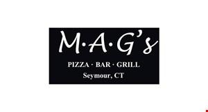 M- A- G's Pizza, Bar & Grill logo