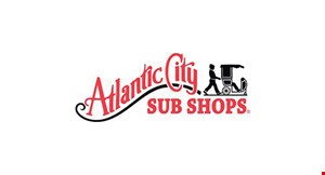 Product image for Atlantic City Sub Shops $1.25 off any half sub or salad.
