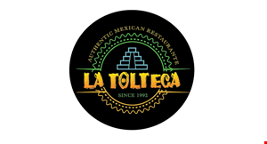 Product image for La Tolteca 15% off total check