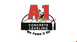Product image for A1 Concrete $30 OFF Any Leveling Job of $300 or more