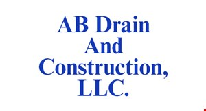 Product image for AB Drain & Construction LLC $500 off service