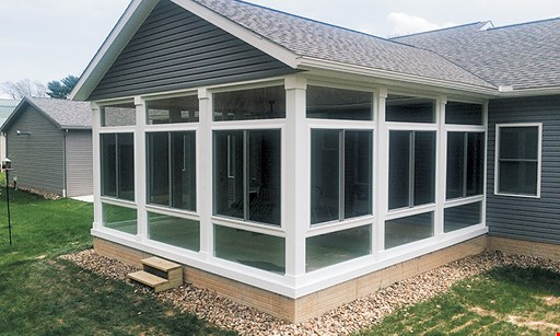 Product image for American Patio Rooms $500 OFF Insulated Glass Sunroom.