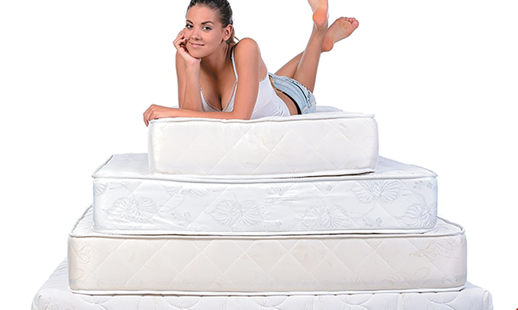 Product image for Bedrooms Today Free delivery, setup and removal of old with any mattress purchase with coupon.