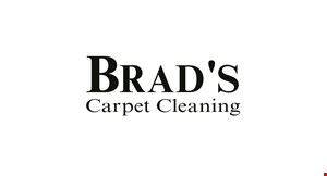 Brad's Carpet Cleaning logo