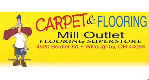 Product image for Carpet & Flooring Mill Outlet $19.99 per yard Our Most Popular! 14 Colors To Choose From.