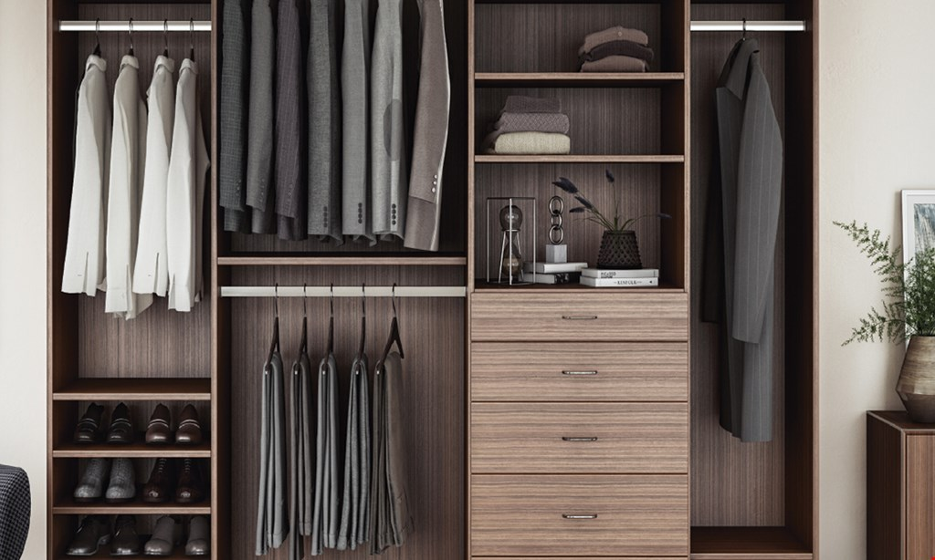 Product image for Closets By Design 40% OFF Plus FREE INSTALLATION.