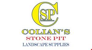 Colian's Stone Pit Landscape Supplies logo