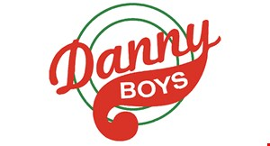 """Product image for Danny Boys - Broadview Heights $14.99+ tax 16"""" Family Size 2-Topping Pizza Carry-out or Delivery Only."""