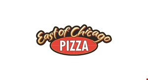 Product image for East Of Chicago Pizza $13.99 3-topping authentic chicago style pizza available in medium only. Does not include specialty pizzas