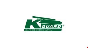 K Guard Leaf Free Gutter System logo