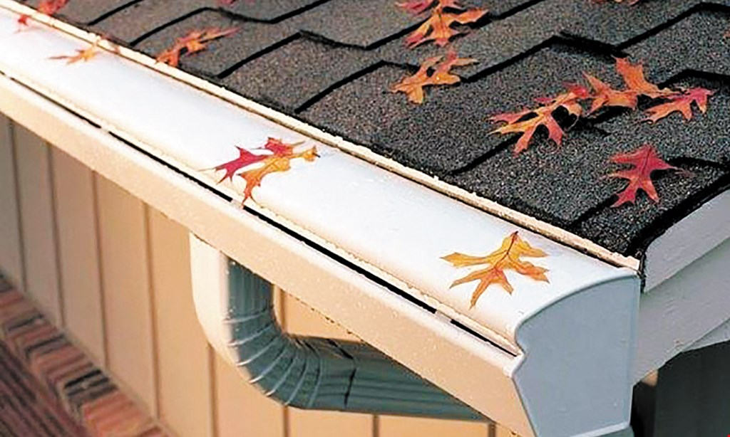 Product image for K Guard Leaf Free Gutter System Save up to 50% on roofs, siding, or windows from DunRite Exteriors with the purchase of K-Guard Gutters