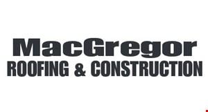 MacGregor Roofing logo