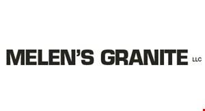 Melen's Granite logo