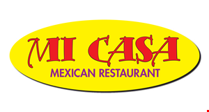 Product image for Mi Casa Mexican Restaurant $5.00 OFF Purchase of $30 or More.
