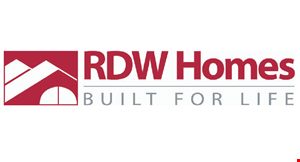 RDW Homes logo