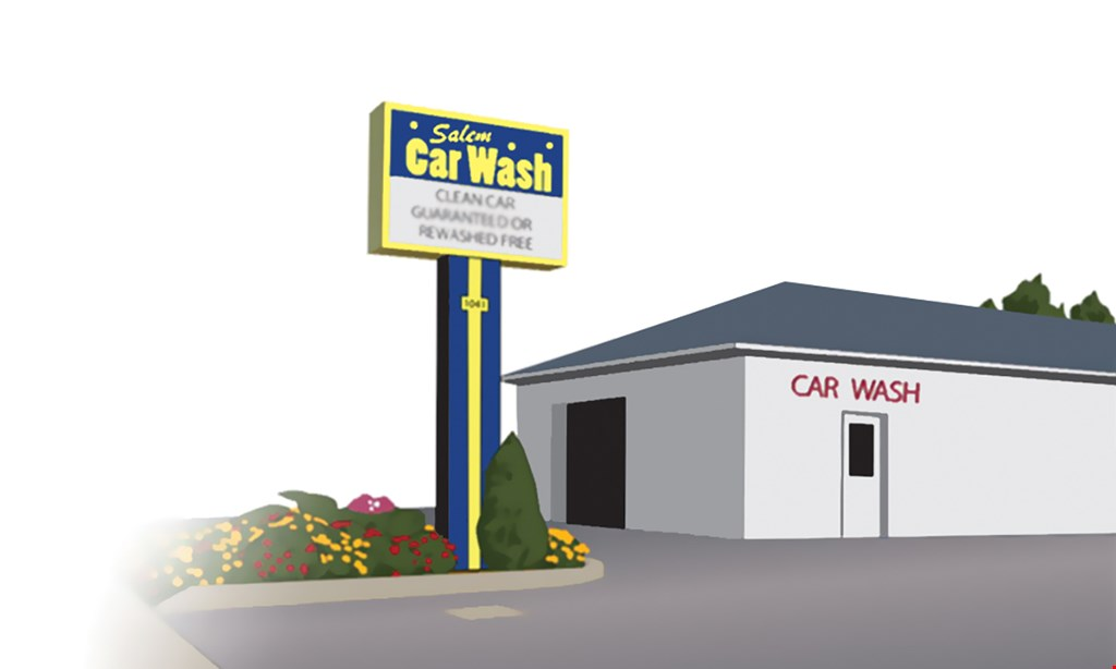 Product image for Salem Car Wash ONLY $9.95 Car Wash with Rain-X® for Shine & Protection.