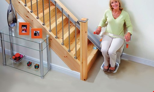Product image for Sonshine Medical, Inc. $100 OFF Any Bruno Stair Lift