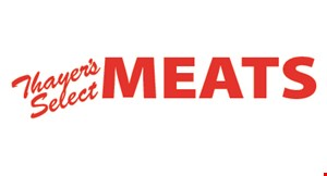Thayer's Select Meats logo