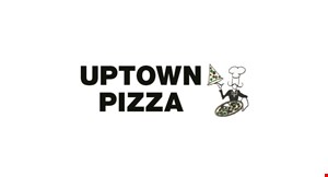 """Product image for Uptown Pizza $1 off ANY 12"""" PIZZA"""