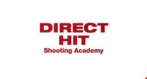 Direct Hit Shooting Academy logo