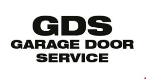 GDS Garage Door Service, Co. logo