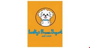 Lucky's Frozen Yogurt logo