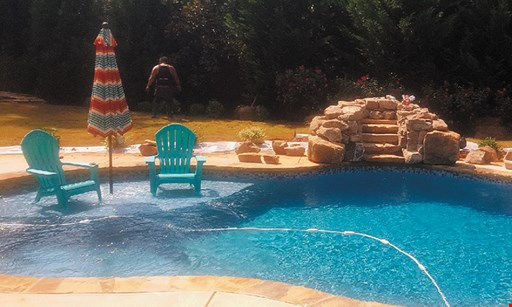 Product image for Crystal Water Pools $51,000 32'x16' pool plus 400 sq. ft. of concrete.