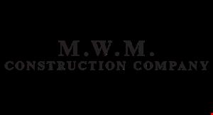 MWM Construction logo