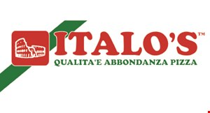 Product image for Italo's Pizza $2 OFF any large pizza.