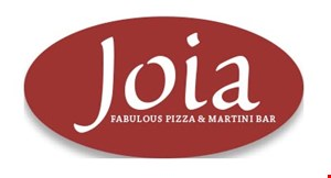Product image for Joia Fabulous Pizza & Martini Bar $5 Off any purchase