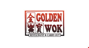Product image for Golden Wok $1 off any order over $10, $2 off any order over $18.