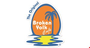 Product image for Broken Yolk Cafe Corporate 50% off any entree.