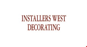Product image for INSTALLERS WEST DECORATING INC 55% off all blinds