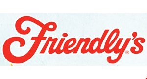 Product image for Friendly's Free kids meal with the purchase of an adult entree.